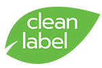 Clean label termék logó