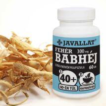 JAVALLAT® Fehér babhéj kapszula - SonicFine® gyógynövényporból