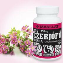 JAVALLAT® Kis ezerjófű herba kapszula - SonicFine® gyógynövényporból