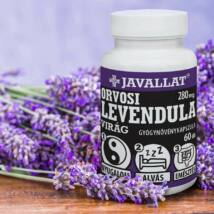 JAVALLAT® Orvosi levendula virág kapszula - SonicFine® gyógynövényporból