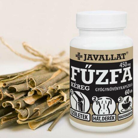 JAVALLAT® Fűzfakéreg kapszula - SonicFine® gyógynövényporból