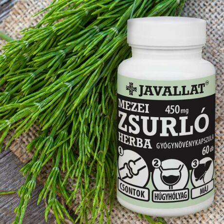 JAVALLAT® Mezei zsurló herba kapszula - SonicFine® gyógynövényporból