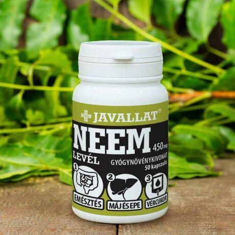Neem (indiai orgona) levél