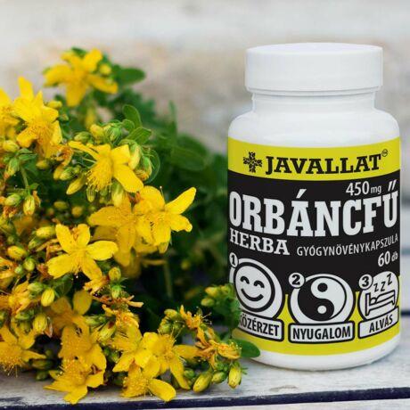 JAVALLAT® Orbáncfű herba kapszula - SonicFine® gyógynövényporból
