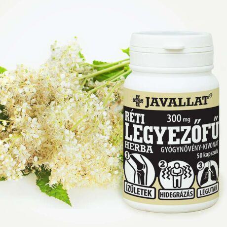 Réti legyezőfű herba