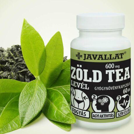 JAVALLAT Zöld tea levél kapszula